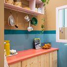Spiced Honey in een kleurrijke keuken voor Flexa - Enter My Attic