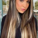 43 Gorgeous Hair Colour Ideas With Blonde : Dark hair with multi shades of blonde