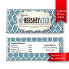 You're Ap-HERSHEY-ated Candy Bar Wrapper |Teacher Thank you gift | Teacher Appreciation Chocolate Bar Wrappers {digital download}