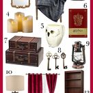 Harry Potter Room Decor Ideas - Wizard Inspired Bedroom Ideas