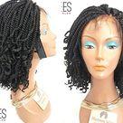 Best Selling Kinky Twist Feathers  Kinky Feathers Braid  Kinky Braided Wigs Kinky Twist with Curls  Kinky Twist Handmade  Kinky FeathersWigs