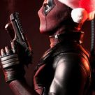 Deadpool Christmas IPhone Wallpaper 1 - IPhone Wallpapers