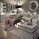 Cozy Neutral Living Room Ideas - Earthy Gray Living Rooms To Copy