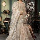 MARIA B Net Wedding Dress Replica 2021   Master Replica Wholesale