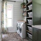 Our DIY Farmhouse Laundry Room - The Reveal!