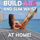 How To Build ABS & Slim Waist l No Equipment l Michie Peachie