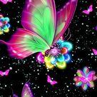 Brillantes Fondos De Pantalla Bonitos De Mariposas