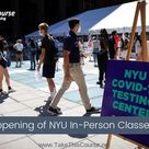 Reopening of NYU In-Person Classes