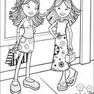 Dibujos Faciles para Dibujar Colorear y Pintar Groovy Girls 23