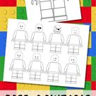 Free Printable Lego Coloring Pages | Paper Trail Design