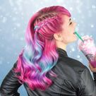 Hair Color   Unicorn Frappuccino inspired   Stylendesigns