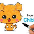 How to Draw a Cute Puppy | Sanrio Chibimaru