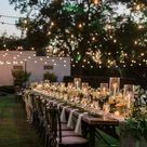 Romantik pur 20 traumhaft schöne Ideen für Lichterdeko bei der Hochzeit