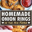 Crispy Air Fryer Onion Rings Recipe   Evolving Table