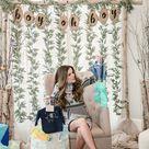 a birch themed baby shower — Hello Honey
