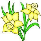 Ausmalbilder Blumen Jahreszeiten