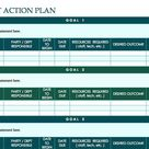 Download Action Plan Template Excel   Work   Project   School   Student