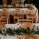 Winter Wedding reception inspiration in a private lodge in Grand Lake, Colorado