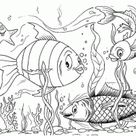Kleurplaten onderwaterwereld