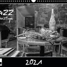 Jazz onstage (Wandkalender 2021 DIN A3 quer)