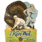 RESOLVED: A vintage (c.1920s) Ken-Wel Lou Gehrig glove sign never existed