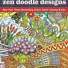 Angela Porter's Zen Doodle Designs: New York Times Bestselling Artists' Adult Coloring Books