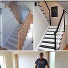 DIY Stair Railing Ideas & Makeovers • OhMeOhMy Blog