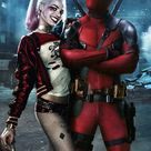 Deadpool And Harley Quinn IPhone Wallpaper - IPhone Wallpapers