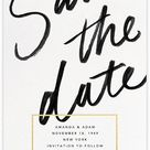 Wedding Save the Dates | Send online instantly | Track opens