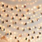 40pcs Clip Bulb String Light