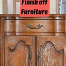 How to Strip the Finish off Furniture