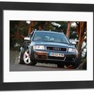 Framed Photo. Audi RS6 Quattro Avant