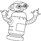 Astro robot coloring pages - Hellokids.com