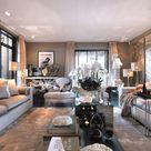 Eric Kuster Metropolitan Luxury — James Bond inspired TV room, design by team Eric...