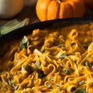 Herbst Rezept One Pot Kürbis Pasta   freundin.de