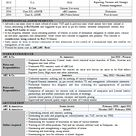 Chartered Accountant Sample Resume