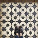 Vintage Vinyl Floorcloths (Pattern 20 Astraea)