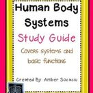 Human Body Sytems Study Guide Freebie