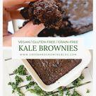 Kale brownies - Green and Growing