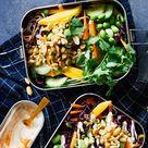 Veganer Thai Salat