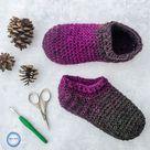 Star Gazer's Slipper Socks Crochet Pattern PDF Printable