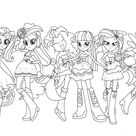 My Little Pony Human Coloring