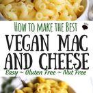 The Best Vegan Mac and Cheese!