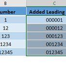 Add a Leading Zero in Excel   MyExcelOnline