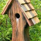 Wooden Bird Houses