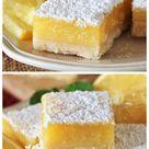 Classic Lemon Bars   How to Make the BEST Lemon Bars
