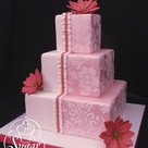 Pink Damask
