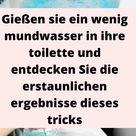 Gießen sie ein wenig mundwasser in ihre toilette und entdecken Sie die erstaunlichen ergebnisse dieses tricks - schonheitundnatur.com