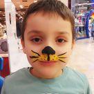 Yuz Boyama Face Painting Tiger In 2020 Face Painting Halloween Leopard Face Paint Tiger Face Paints