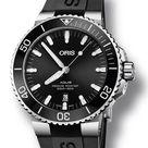 Oris Aquis Date Black Dial Rubber Strap 43.5mm Watch